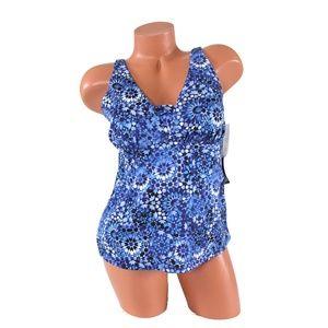 Other - Miraclesuit Lagoon Blue Tankini Swimsuit Top